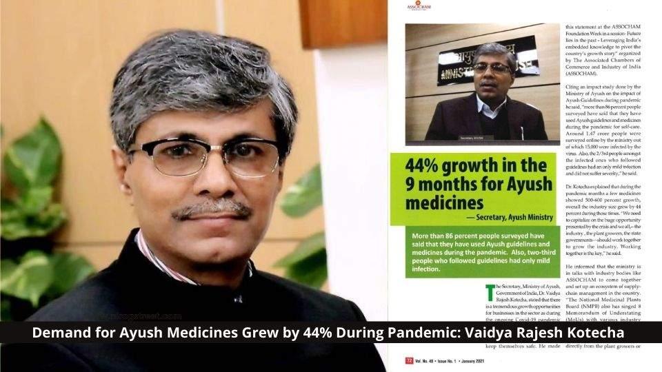 Demand for Ayush Medicines