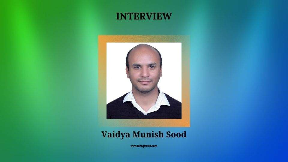 Interview with Munish Sood