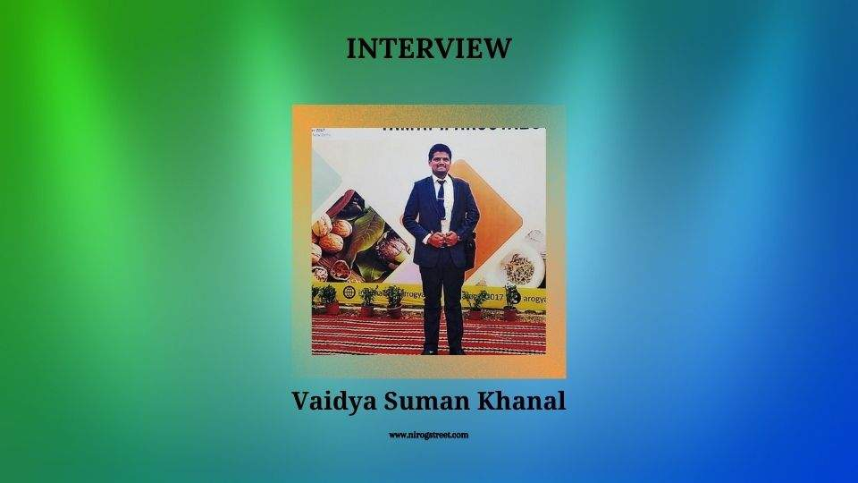 Dr. Suman Khanal ayurveda