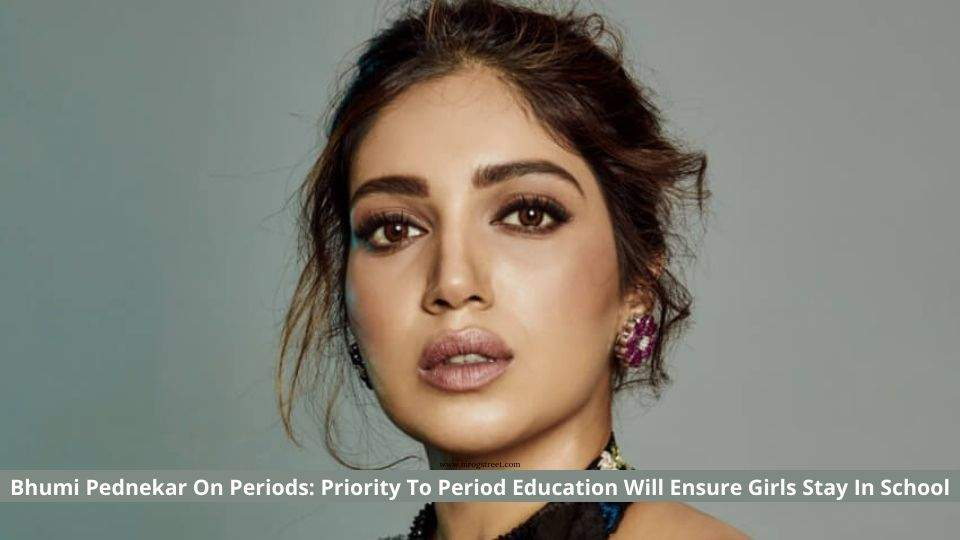 Bhumi Pednekar talking On Periods