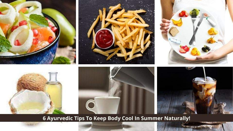 Ayurvedic Tips To Keep The Body Cool In Summer Naturally