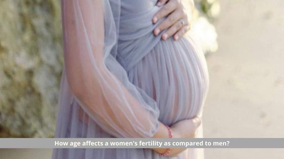 age affects a women's fertility