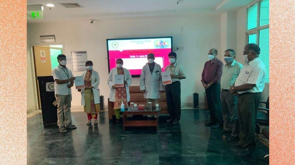 Post COVID Care Ward At AIIA, New Delhi