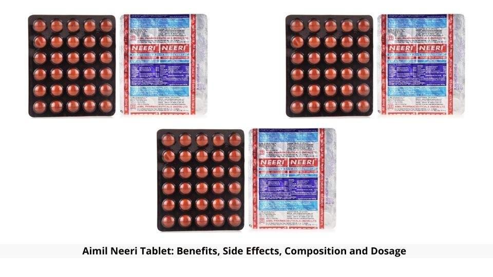 Aimil Neeri Tablet Benefits