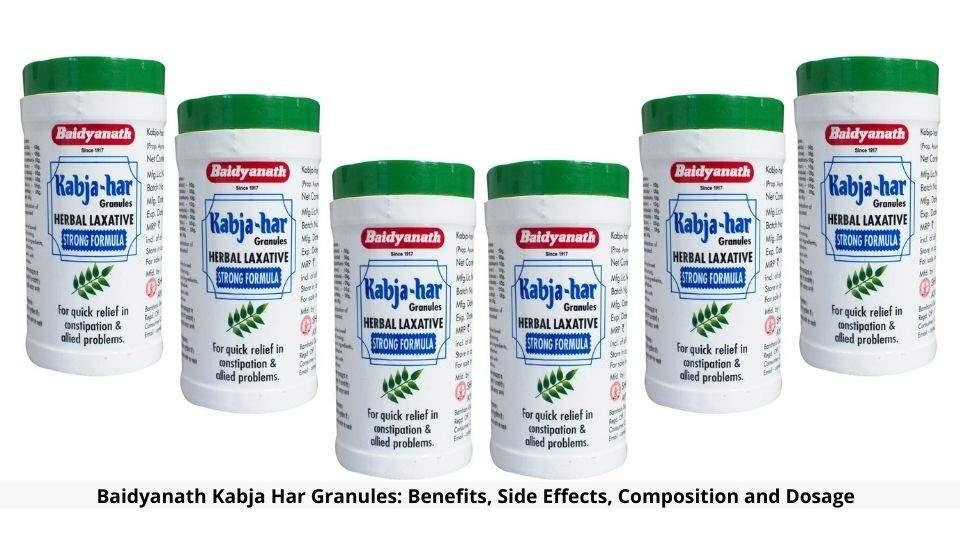 Baidyanath Kabja Har Granules Benefits