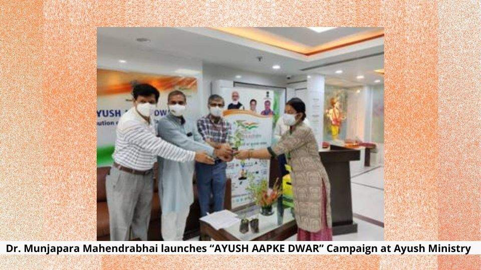 Campaign at Ayush Ministry