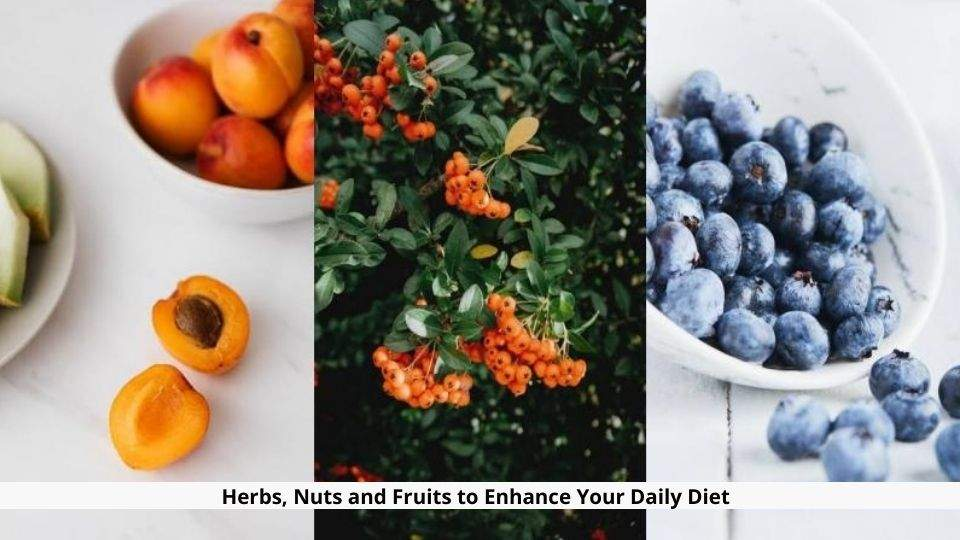 Herbs Nuts and Fruits