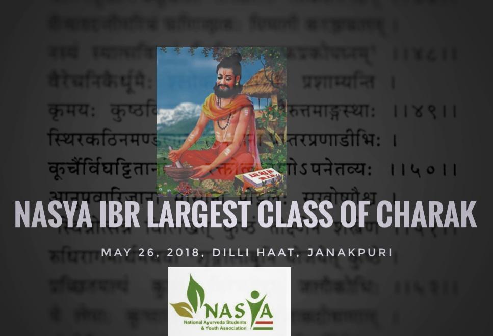 NASYA IBR Largest Class of Charak