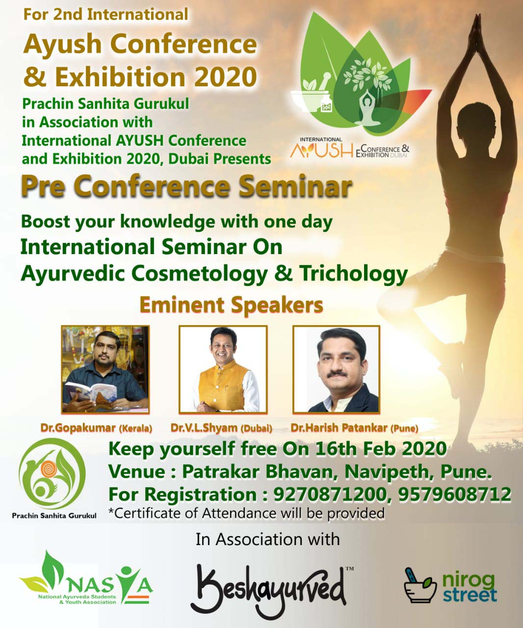 International Seminar on Ayurvedic Cosmetology and Trichology in Pune
