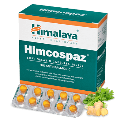 Himalaya - Himcospaz Capsules