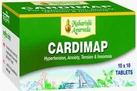 Maharshi Ayurveda - Cardimap Capsules