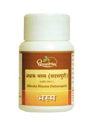 Dhootpapeshwar - Abhraka Bhasma (Sahasraputi)