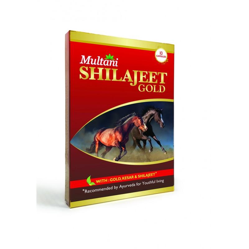 Multani - Shilajeet Gold Capsule