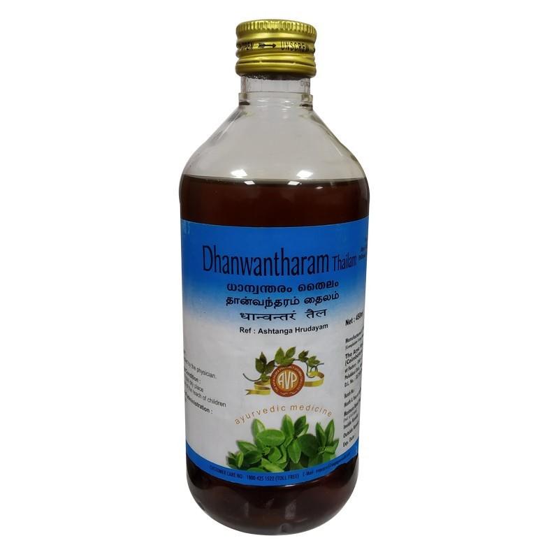 Arya Vaidya Pharmacy - Dhanwantharam Thailam