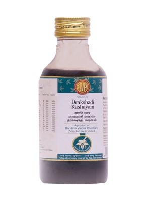Arya Vaidya Pharmacy - Drakshadi Kashayam
