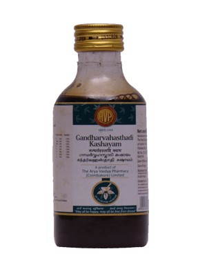 Arya Vaidya Pharmacy - Gandharvahasthadi Kashayam
