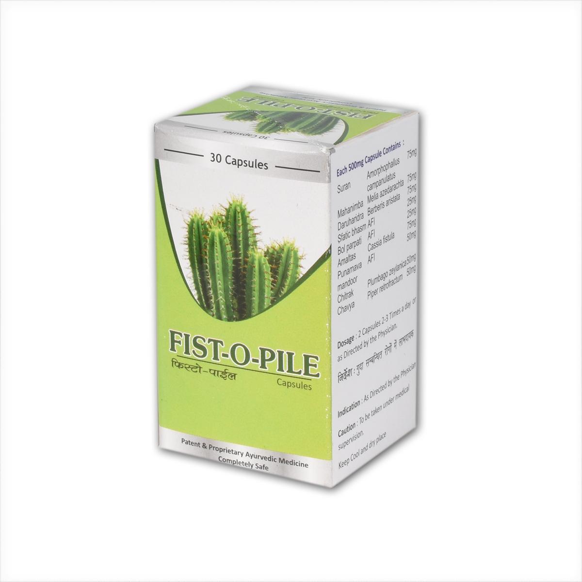 FIST-O-PILE  CAPSULE