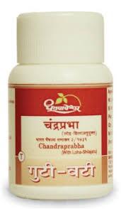 Dhootpapeshwar - Chandraprabha Vati (With Loha Shilajatu)