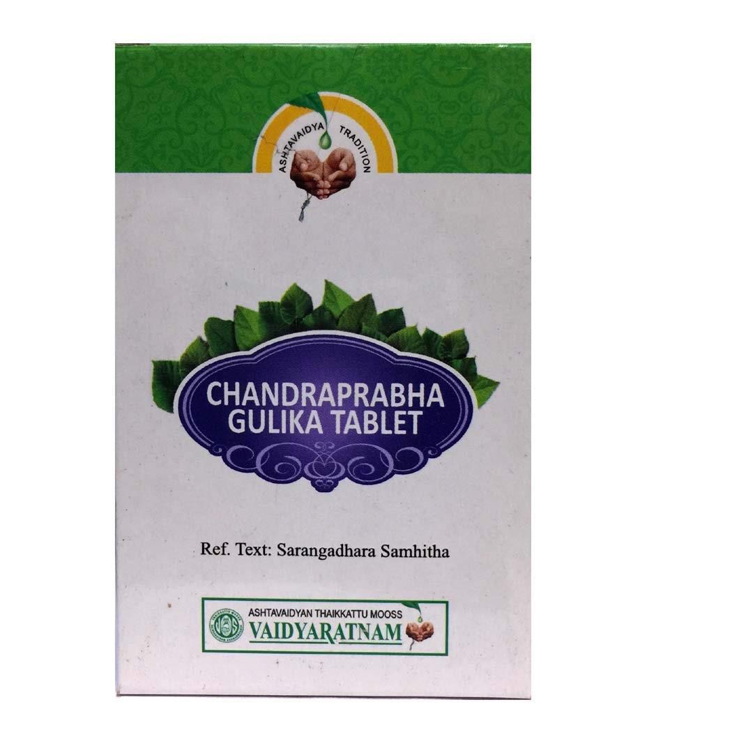 Vaidyaratnam - Chandraprabha Gulika Tablet