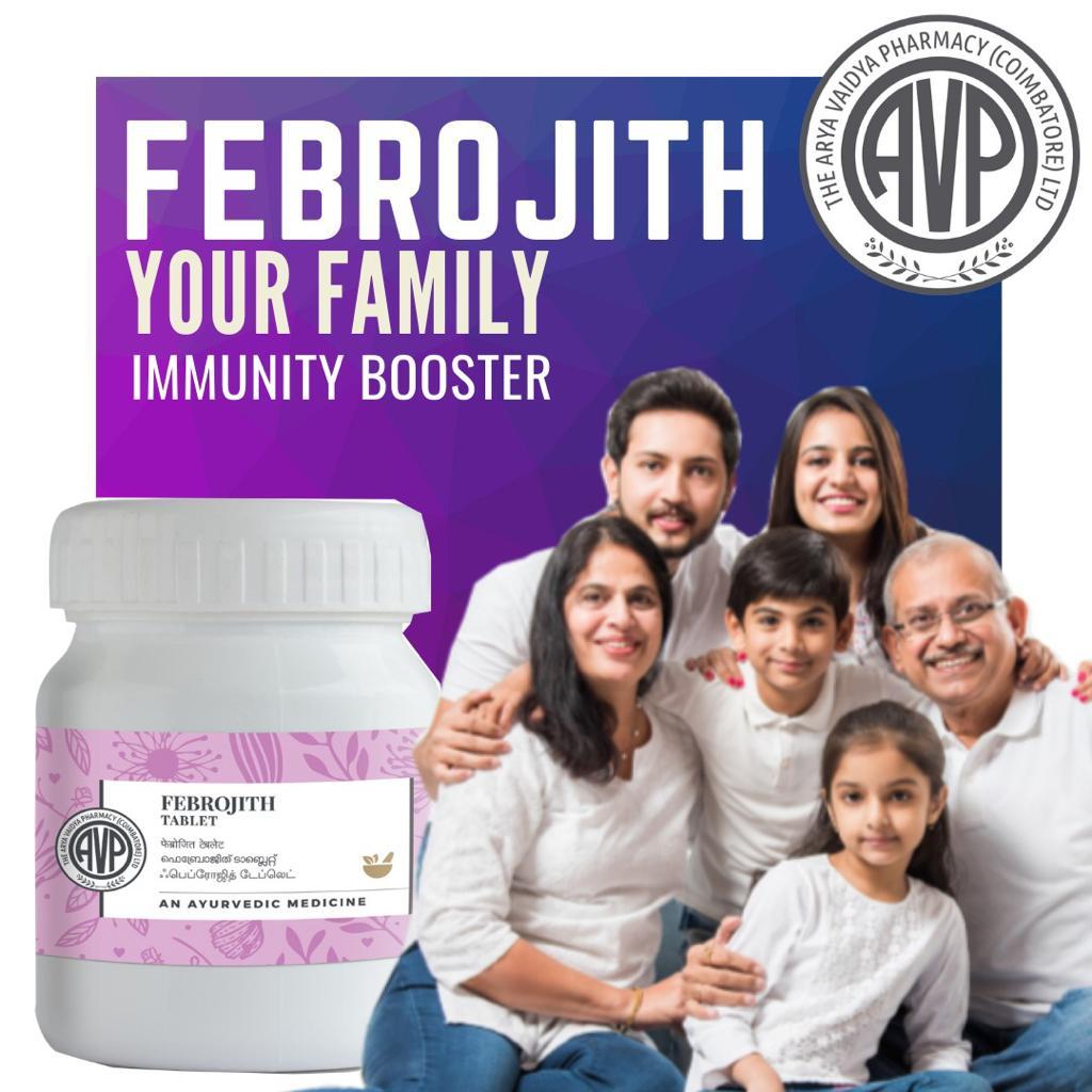 Arya Vaidya Pharmacy - Febrojith Tablet