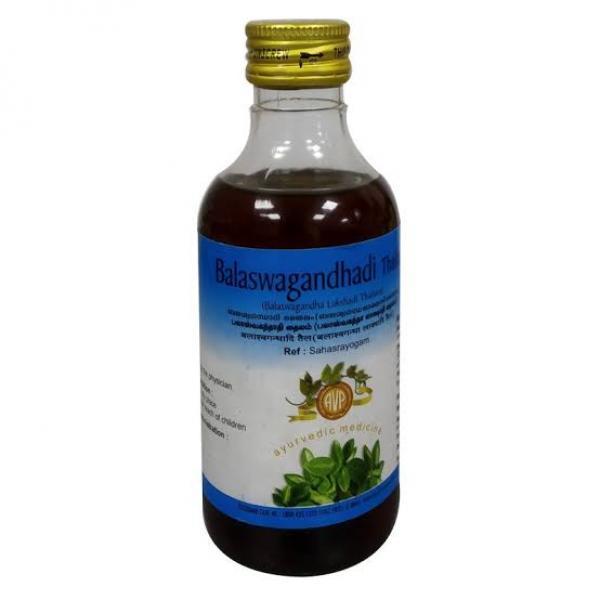 Arya Vaidya Pharmacy - Balaswagandha Lakshadi Thailam