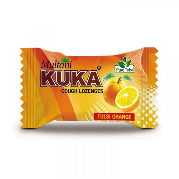 Multani - Kuka Cough Lozenges (Tulsi Orange)