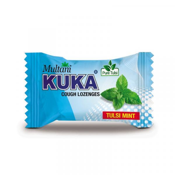 Multani - Kuka Cough Lozenges (Tulsi Mint)