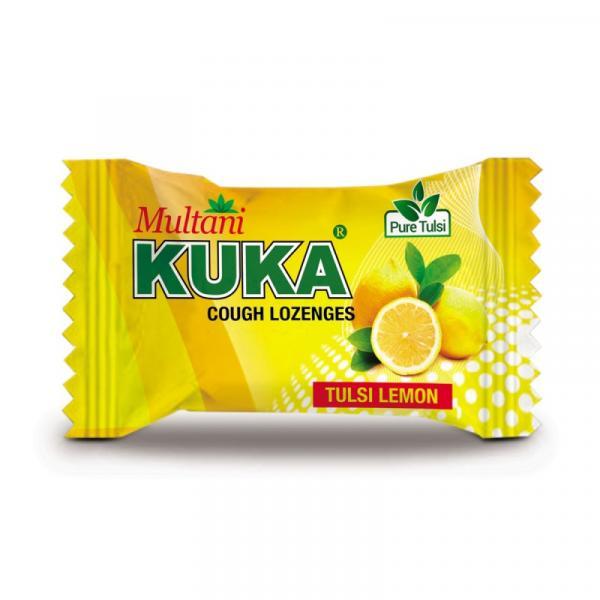 Multani - Kuka Cough Lozenges (Tulsi Lemon)