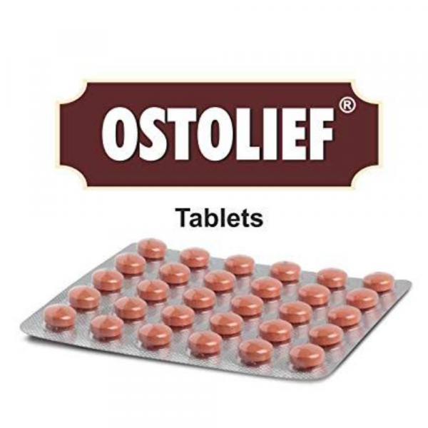 Charak - Ostolief Tablets