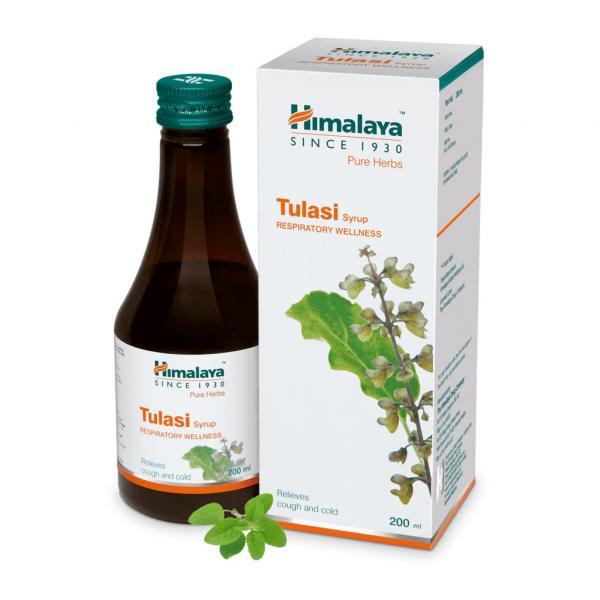 Himalaya - Tulasi Syrup (Respiratory Wellness)
