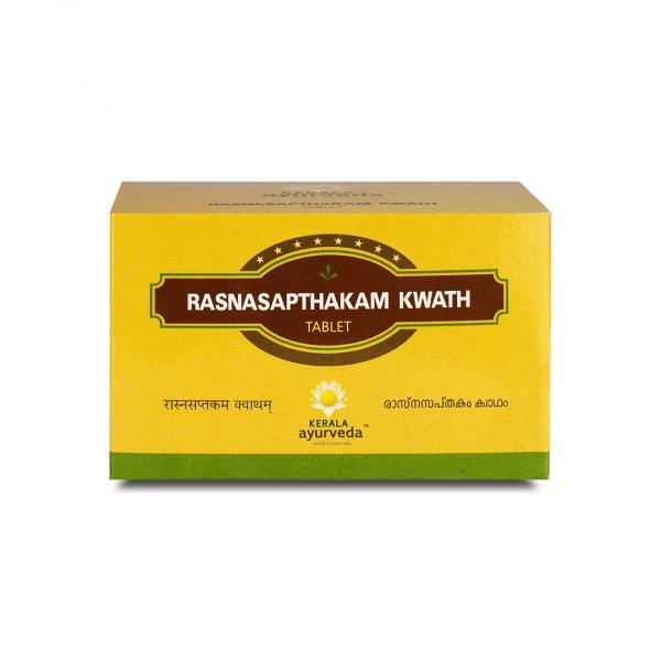 Kerala Ayurveda - Rasnasapthakam Kwath Tablet
