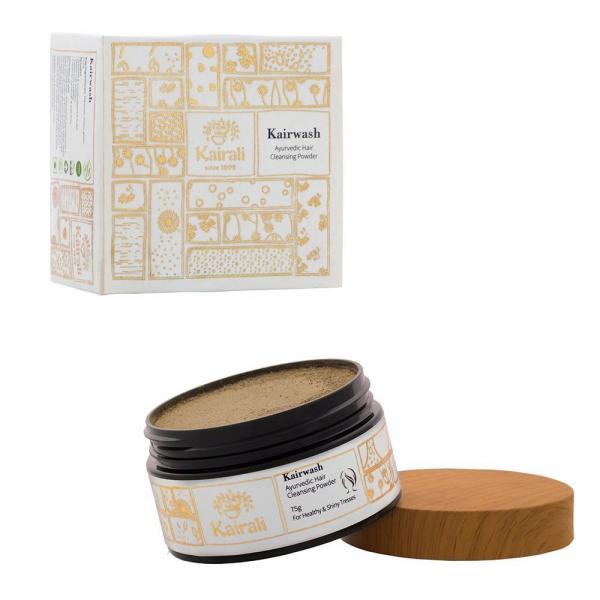Kairali - Kairwash Powder (Herbal Hair Wash Powder for Healthy, Long and Shiny Hair)