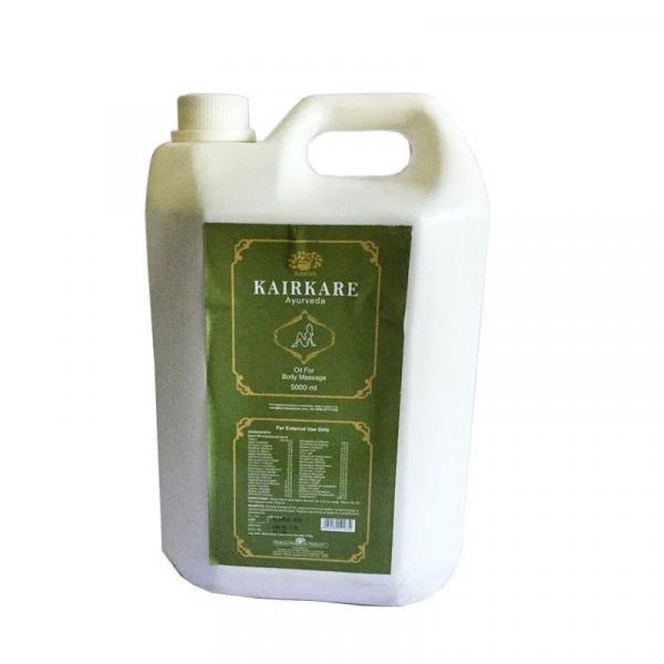 Kairali - Kairkare Oil (Ayurvedic Body Massage Oil for Detoxifying & De-Stressing)
