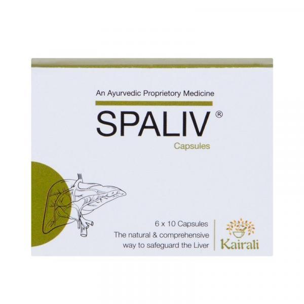 Kairali - Spaliv Capsules (Best Ayurvedic Medicine for Liver Disease)