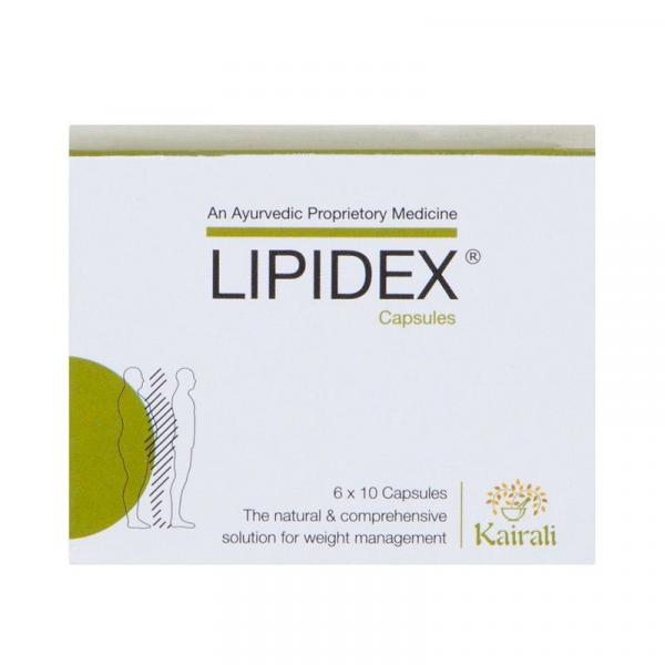 Kairali - Lipidex Capsules (Safe and Effective Ayurvedic Medicine for Weight Loss)