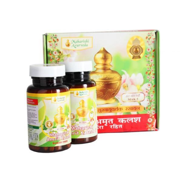 Maharshi Ayurveda - Amrit Kalash Tablet - Dual Pack (Sugar Free Tablets)