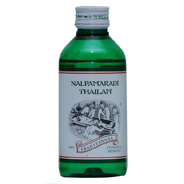 Kairali - Nalpamaradi Thailam (Best Skin Brightening & Ayurvedic Skin Treatment Oil)