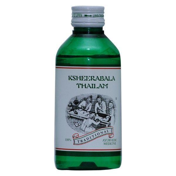Kairali - Ksheerabala Thailam (Ayurvedic Medicated Oil for Neurological Disorders)
