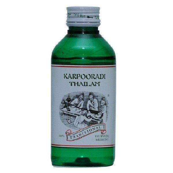Kairali - Karpooradi Thailam (Effective Ayurvedic Pain Relief Oil for Muscular & Joint pains)
