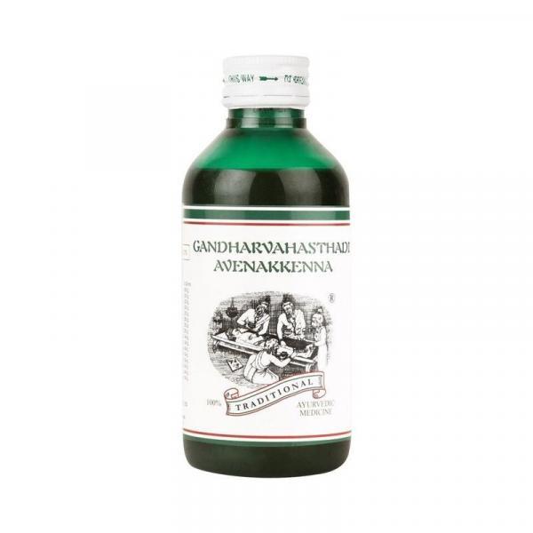 Kairali - Gandharvahasthadi Avenakkenna (Ayurvedic Medicine for Stomach Pain, Constipation & Digestion)