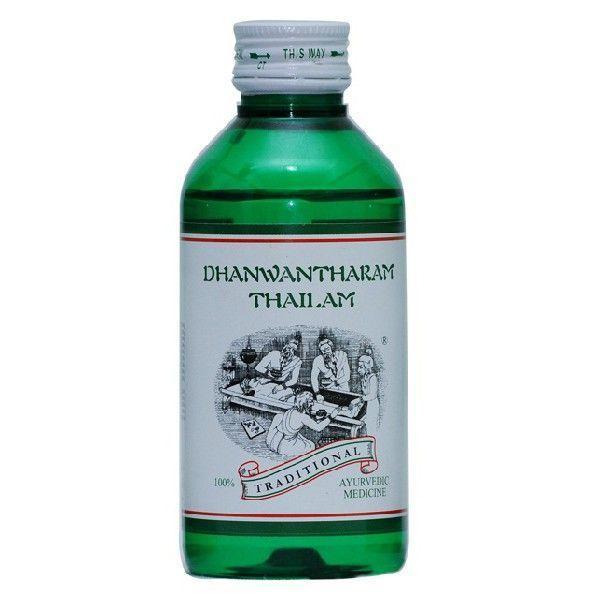 Kairali - Dhanwantharam Thailam (Effective Ayurvedic Oil for Chronic Rheumatic & Nervous Disorders)