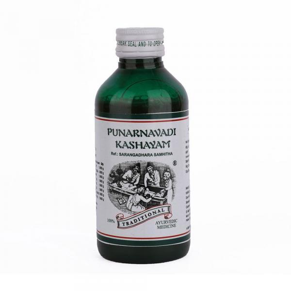 Kairali - Punarnavadi Kashayam (Ayurvedic Medicine for Cough, Cold, Anemia & Abdominal Pain)