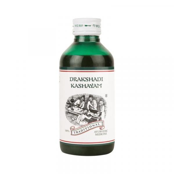 Kairali - Drakshadi Kashayam (Ayurvedic Medicine for Jaundice, Anaemia & Alcoholic Hangover)