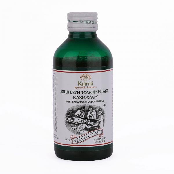 Kairali - Bruhath Manjishtadi Kashayam (Ayurvedic Medicine for Skin diseases, Rheumatism & Paralysis)