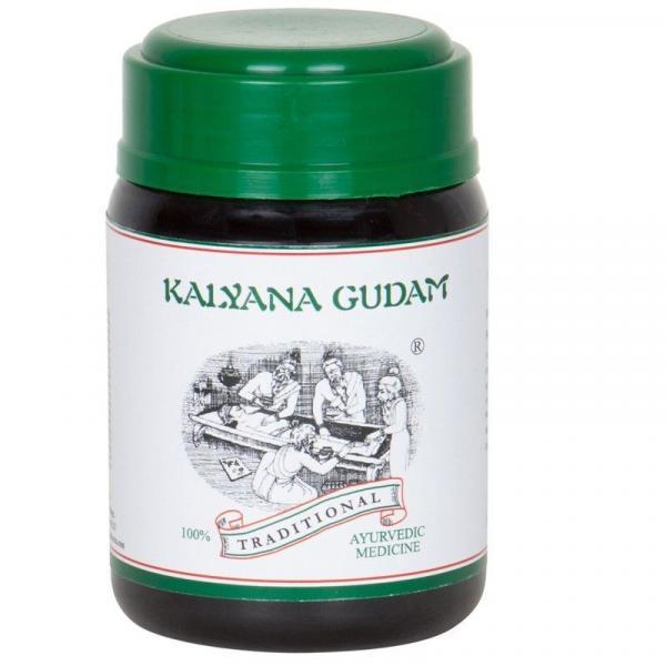 Kairali - Kalyana Gudam (Ayurvedic Medicine for Skin, Digestive & Liver Diseases)