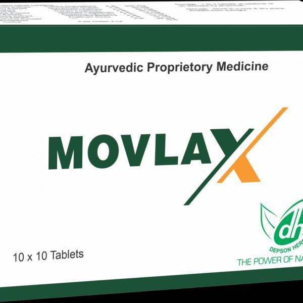 Depson Herbals - Movlax Tablet