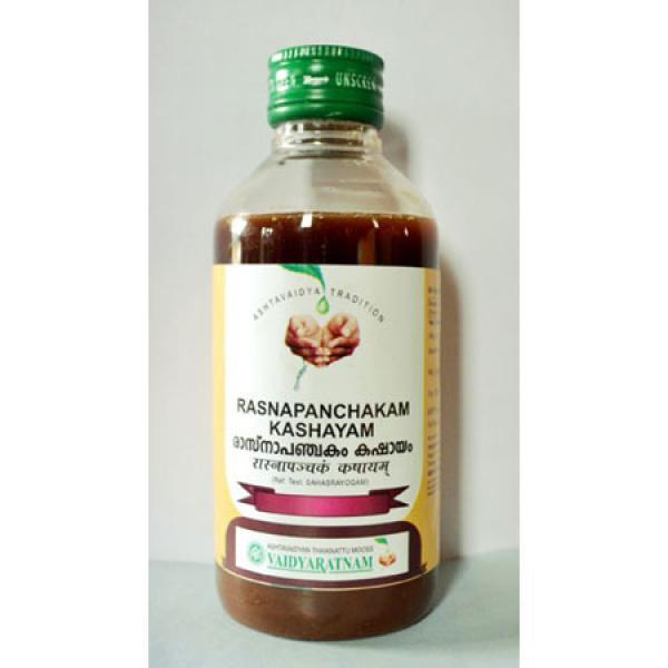 Vaidyaratnam - Rasnapanchakam Kashayam