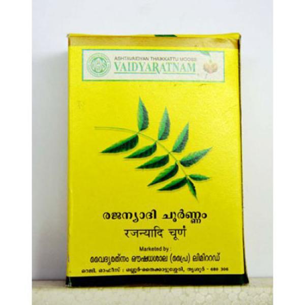 Vaidyaratnam - Rajanyadi Choornam