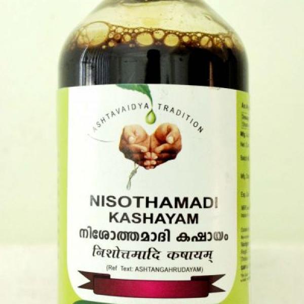 Vaidyaratnam - Nisothamadi Kashayam