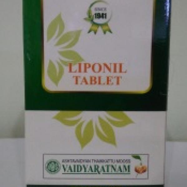 Vaidyaratnam - Liponil Tablet